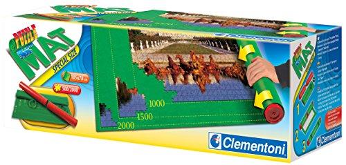 Clementoni - Tapete especial para armar puzzles, color verde (302970)