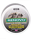 Best Leather Purse Cleaners - Renovo RLRBLA1147 Leather Reviver, Black, 200 ml Review