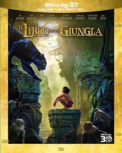 Il Libro della Giungla 3D (2 Blu-Ray);The Jungle Book