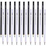 Shulaner crayons graphite 2B crayons de dessin d'école d'écriture d'arc-en-ciel, crayon à papier - Paquet de 20