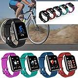 Dieron Inseguitore di Fitness del Braccialetto di Polsino di Sport Impermeabile Impermeabile di Bluetooth Smartwatch