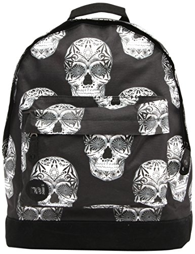 Mi-Pac Collection Eloise Roberts Rucksack Skulls Black