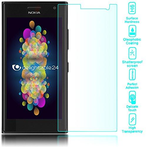 delightable24 Pellicola Protettiva Vetro Temprato Glass Screen Protector Smartphone NOKIA