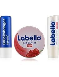 Labello Geschenkset Lip Butter, 1er Pack (1 x 3 Stück)