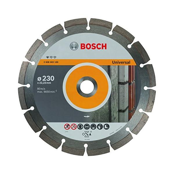 Bosch Professional 2608602195 Disco de corte de diamante Standard for Universal Professional, accesorio para amoladora angula, Ø 230 mm, 230 x 22.23 x 2.3 x 10 mm