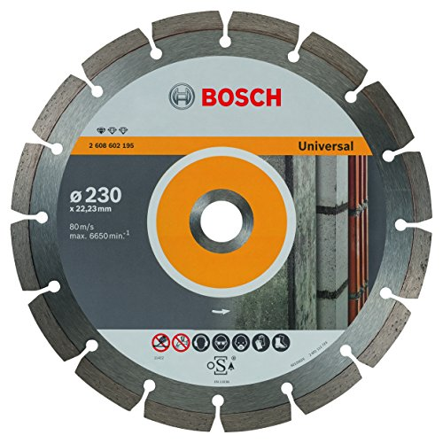 Bosch Pro Diamanttrennscheibe Standard for Universal zum Schneiden von allen Baumaterialien (Ø 230 mm)