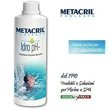 Reductor del ph del agua de forma líquida + Vaso dosificador. Idro