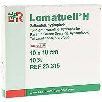 LOMATUELL H Salbentüll 10x10 cm steril 10 St preisvergleich bei billige-tabletten.eu