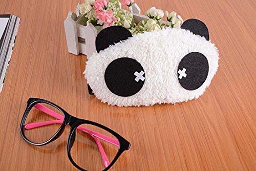 Lovely Cartoon Panda Fluff Augenmaske / Schlaf Maske Interessante Schlafmasken für Männer & Frauen mit 100% Licht blockiert Bequeme weiche und atmungsaktiv verbessern Schlafqualität Ein Satz von 2 ( Size (Augenmaske Elefant Plüsch)