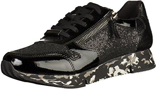 Signore della scarpa da tennis 37 38 39 40 41 42 nero Tamaris 1-23700-001 Nero (Black 001)