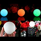 3 LED Kugeln mit Farbwechsel - Stimmungslicht Kugelleuchte Innen LED Lichter Lampen Leuchtkugeln 3er Set von PK Green