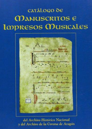 Catalogo De Manuscritos E Impresos Music