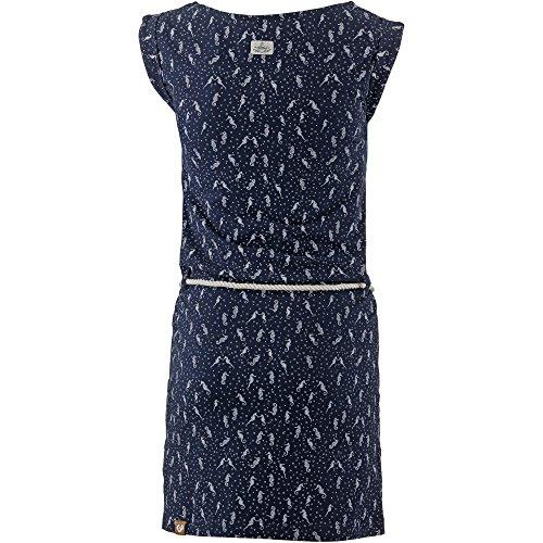 Ragwear Damen Jerseykleid blau M - 2