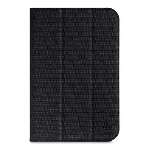 Belkin Universal Trifold Schutzhülle mit Standfuß (geeignet für Tablets bis 20,32 cm (8 Zoll)) schwarz