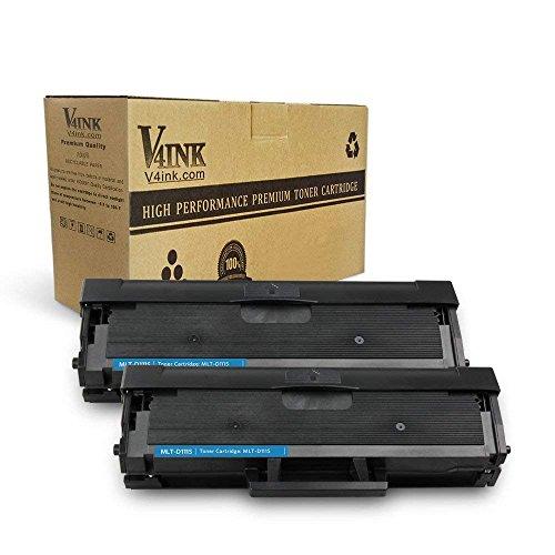 V4ink kit 2 toner compatibili sostituzione per samsung mlt-d111s xpress sl-m2070 sl-m2070w sl-m2022m sl-2022w sl-m2020 sl-m2020w sl-m2070fw sl-m2026 sl-m2026w - (nero, 1,000 copie)