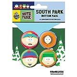 South Park Ansteck-Buttons Faces (4)