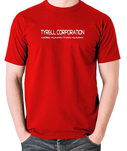 Blade Runner - Tyrell Corporation, più umani umani T Shirt Red Large