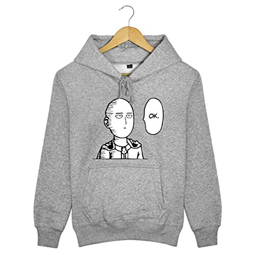 Homme Sweat à Capuche Hoodie Cosplay Costume Pull Coton Sweat-shirt Fleece Vêtements pour Adult Anime Manga Accessoires