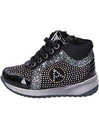 ASSO Sneaker Bambina Strass Nero c0e6de223e3