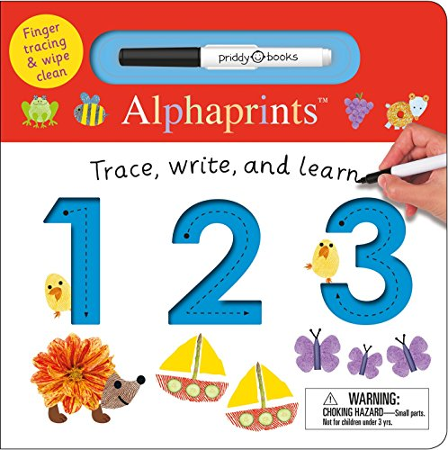 Alphaprints: Trace, Write, and Learn 123 por Roger Priddy
