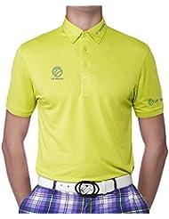 IJP Design Junior Classic Tour-Shirt - Prenda, color verde, talla de: años 14