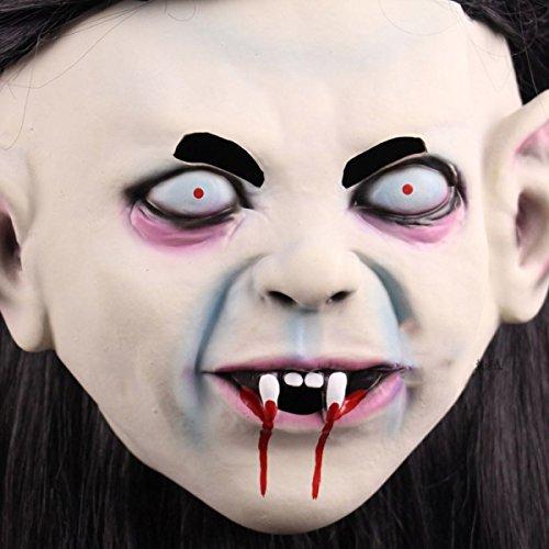 Ghosts Ghosts Christmas Dances Scary Latex Ghosts Dekorationen - Schwarz Scaryt Halloween Deluxe Ghost Face Maske,A (Halloween Ghost Face)