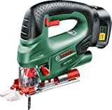 Bosch PST 18 LI Cordless Jigsaw with 18 V Lithium-Ion Battery