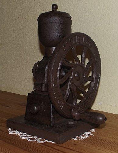Schwungradkaffeemühle,Hand,Kaffeemühle,Ladenmühle,Retro,Antik,Neu,selten, (Antike Kaffeemühle)