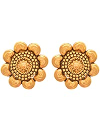 868664ee9 JFL - Traditional Ethnic One Gram Gold Plated Designer Stud Earring For  Women & Girls