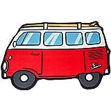 Balvi - Van toalla de playa o de piscina. Diseño retro y original. Diseño de furgoneta surfera.