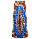 Domybest 2017 Frauen Afrikanische Kleidung Dashiki Rock Traditionelle Tuch Wachs Print Rock L