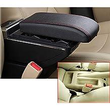 Para Bora Golf 4 Gama alta Auto Apoyabrazos Consola Central Reposabrazos Accesorios Con función de carga