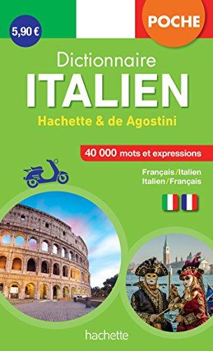 Dictionnaire Poche Hachette De Agostini - Bilingue Italien par Collectif