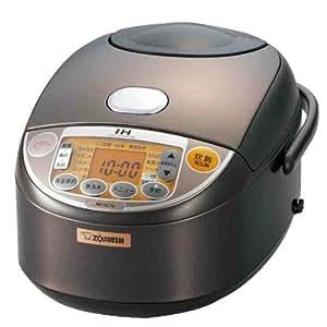 ZOJIRUSHI IH Rice cooker 【5.5gou Cook】 Brown NP-VC10-TA
