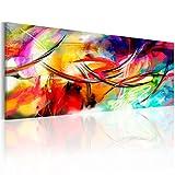 murando - Bilder 150x50 cm - Leinwandbild - 1 Teilig - Kunstdruck - modern - Wandbilder XXL - Wanddekoration - Design - Wand Bild - Abstrakt a-A-0001-b-b