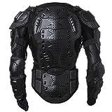 Goldfox® Motorrad Jacke Schutzkleidung Protektoren Protektorenjacke Motorcross Armour Snowboarden Brustpanzer (XL)