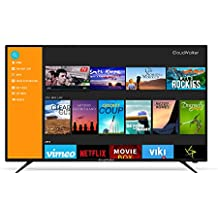CloudWalker 139 cm (55 inches) 4K Ready 55SFX2 Full HD Smart LED TV (Black)