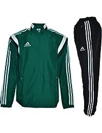 Adidas Performance - Chandal de fútbol - Ref. UEFA PRSENTATION SUIT - G90432, verde, XS