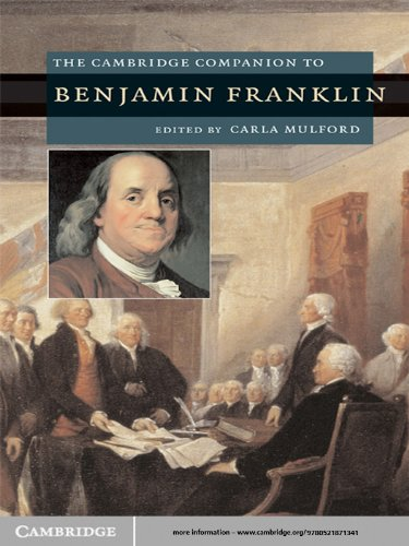 The Cambridge Companion to Benjamin Franklin (Cambridge Companions to American Studies) (English Edition)