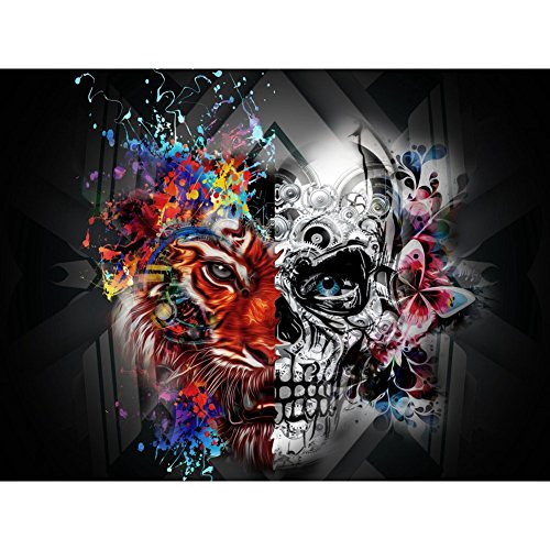 Balai Halloween Wandteppich 5D Diamant Malerei DIY Handgefertigt Stickerei Strass Rhinestone Full Kits, Gothic Halloween Themen Diamond Strass Stickerei Painting Dekoration für Halloween Home Décor