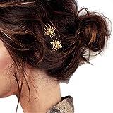1 Paar Biene-Haarspange Haarklemme Haarclips- Ularmo