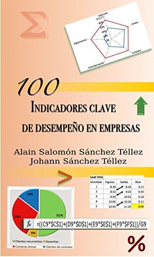 100 indicadores clave de desempeño en empresas por Alain Salomón Sánchez Téllez