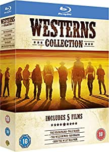 Westerns Collection (5 Blu-Ray) [Edizione: Regno Unito] [Import anglais]