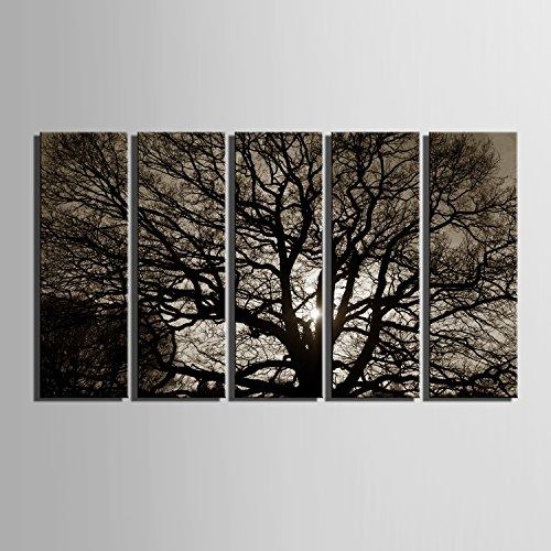 arbre-ombre-decor-peinture-toile-sans-cadre-peinture-peinture-jet-dencre-peinture-2470530905cm-30905