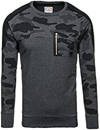 BOLF – Sweat – Pull de sport – Manches longues – Sweat-shirt – Homme [1A1]
