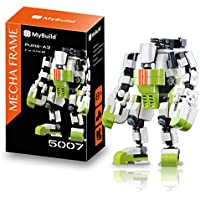 MyBuild Mecha Frame Puma Team Puma-A2 Direct Action Mech 5007 Quality Building Toy Unique Frame System with Wonderful Articulation All Bricks Compatible with Other Major Brands