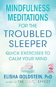 Mindfulness Meditations for the Troubled Sleeper: The Now Effect (English Edition) par [Goldstein, Elisha]