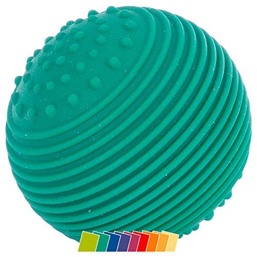 Sport-Tec Physio Reflexball mit Noppen Massageball Motorik Training Entspannung, 5,5 cm