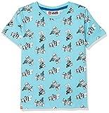 Lego Wear Jungen T-Shirt Star Wars M, Türkis (Light Turquise 733), 140