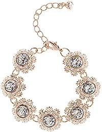 Ted Baker Seah Crystal Daisy Lace Bracelet TBJ1581-24-02